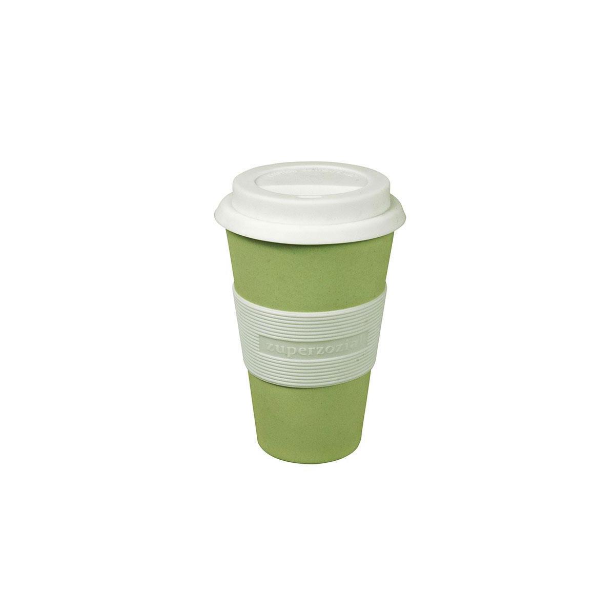 Coffee To Go Becher Aus Bambusfasern Und Mais Von Zuperzozial