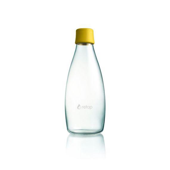 Wiederverwendbare Wasserflasche mit Verschluss - 0,8 Liter - Bild 19