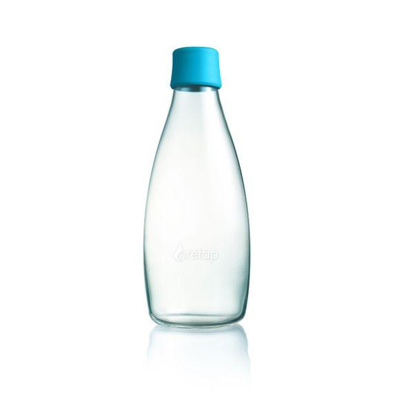 Wiederverwendbare Wasserflasche mit Verschluss - 0,8 Liter - Bild 13