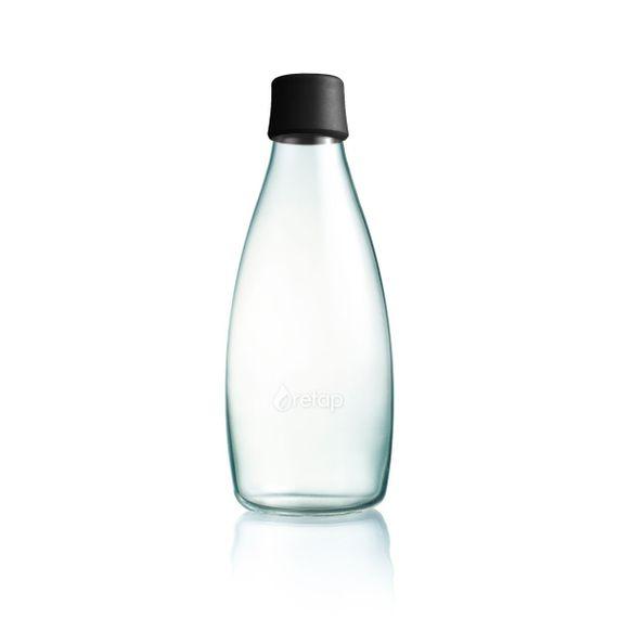 Wiederverwendbare Wasserflasche mit Verschluss - 0,8 Liter - Bild 6
