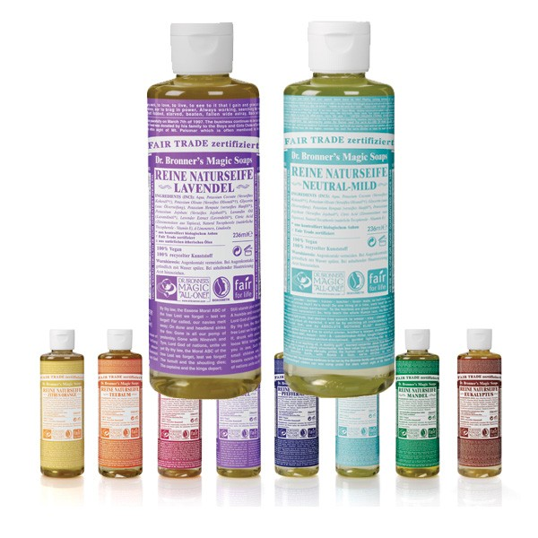 Magic Liquid Soap all in One - 236 ml von Dr. Bronner's