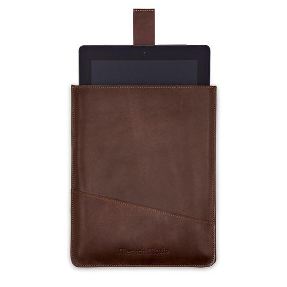 iPad Sleeve aus Restleder - Bild 1