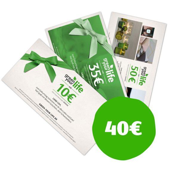 Gutschein zum Selbstausdrucken - Wert 40 € - Bild 1