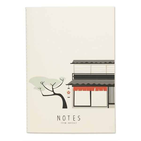 "Notizbuch ""Notes from abroad"" von pleased to meet"