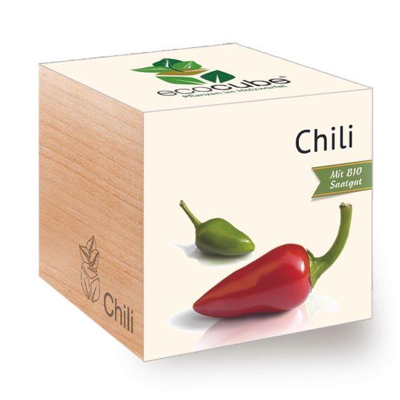 Chili im Holzwürfel - Bild 1