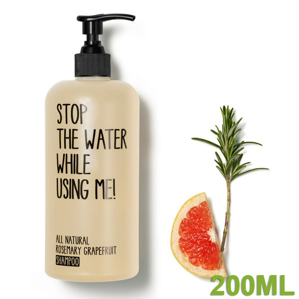 All Natural Rosemary Grapefruit Shampoo 200 ml von STOP THE WATER WHILE USING ME!