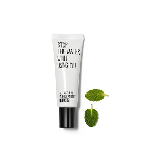 All Natural Moroccan mint Lip Balm von STOP THE WATER WHILE USING ME!