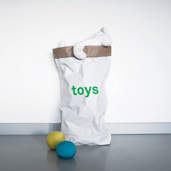 """Papiersack 3er Set """"toys"""" - Für Spielzeug - Bild"""