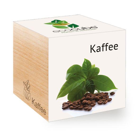 Kaffee im Holzwürfel - Bild 1