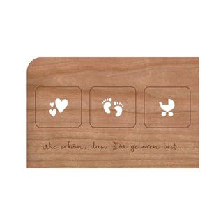 geburt gru karten und postkarten bei green your life bestellen nachhaltig g nstig kaufen. Black Bedroom Furniture Sets. Home Design Ideas