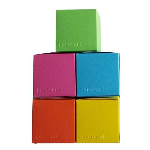 Würfelschachtel-Set Colour Cube Funky klein - Bild 1