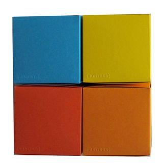 Würfelschachtel-Set Colour Cube Summer mittelgroß