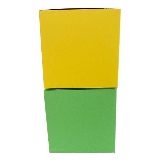 Würfelschachtel-Set Colour Cube Spring groß - Bild 1