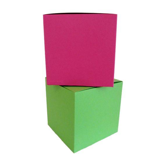 Würfelschachtel-Set Colour Cube Funky groß - Bild 1