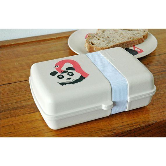 Hungry Kids Lunch-Box für Pausenbrot - aus Bambusfasern und Mais - Bild 5
