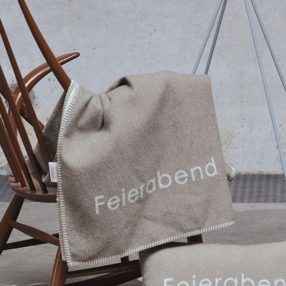 "SYLT Baumwolldecke ""Feierabend"" 140 x 200 cm - Bild 4"