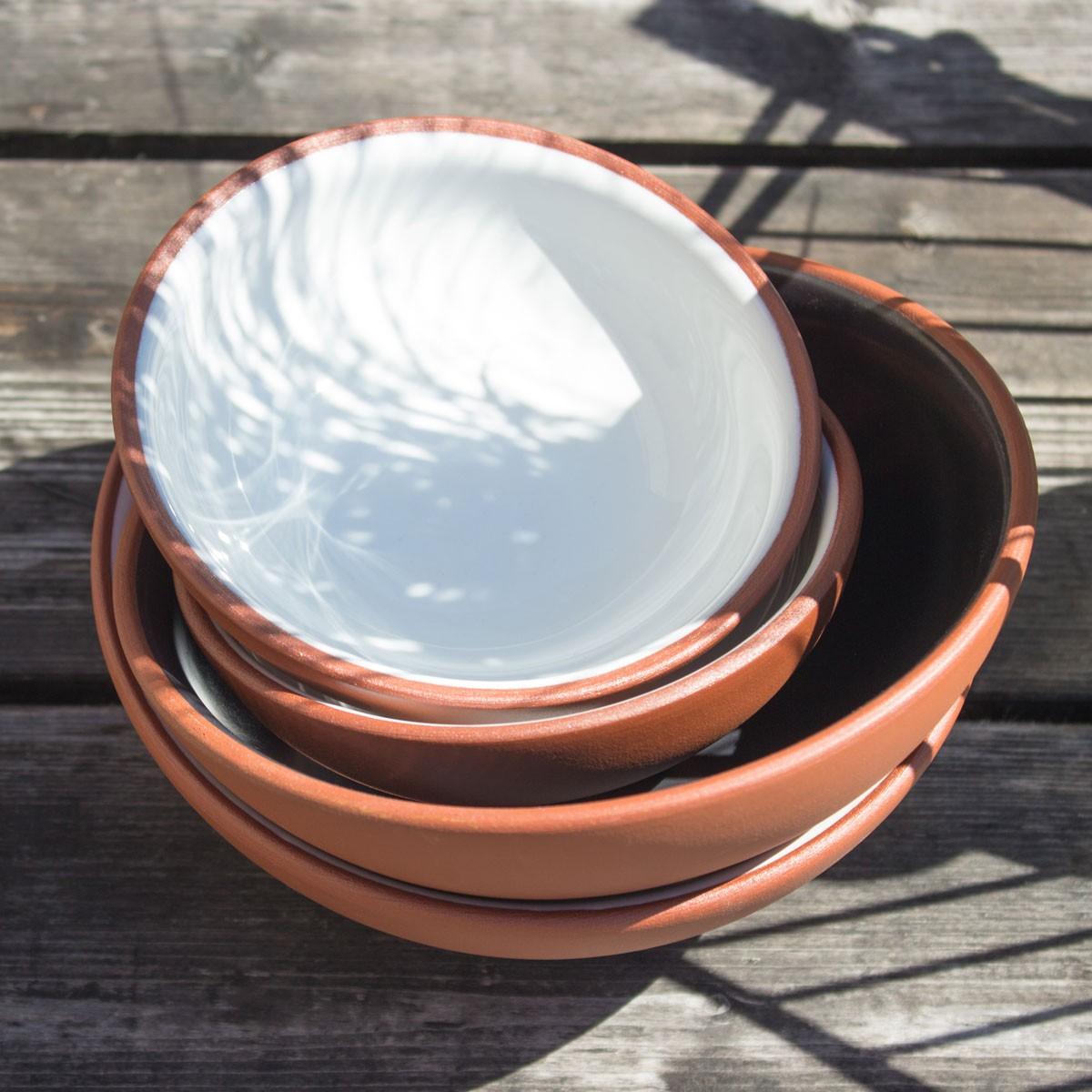 Collection Earth - Kleine Tonschale - Ø 12,5 cm - 0,2 Liter von Vaidava Ceramics