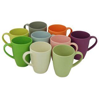 "Kaffeebecher ""Lean Back Mug"" aus Bambusfasern und Mais"