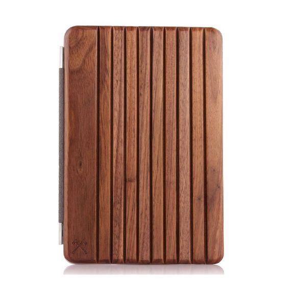 EcoCover - iPad Air Cover aus Wallnussholz - Bild 1