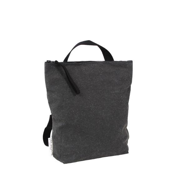 "Rucksack ""Size XL"" aus recyceltem Leder - Bild 1"