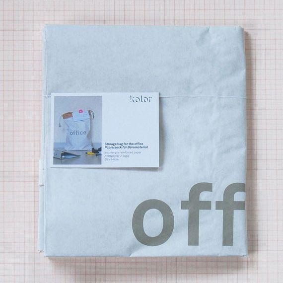 """Papiersack """"Office"""" - Bild 2"""