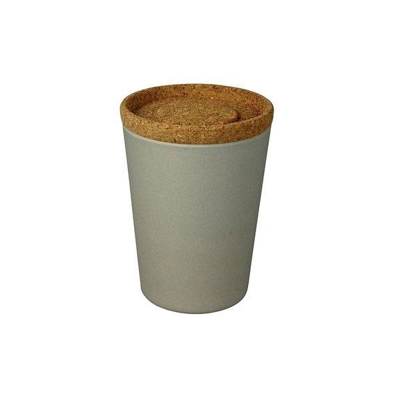 """Vorratsdose """"Store & Stack"""" mit Korkdeckel - Large - aus Bambusfasern und Mais - Bild 3"""