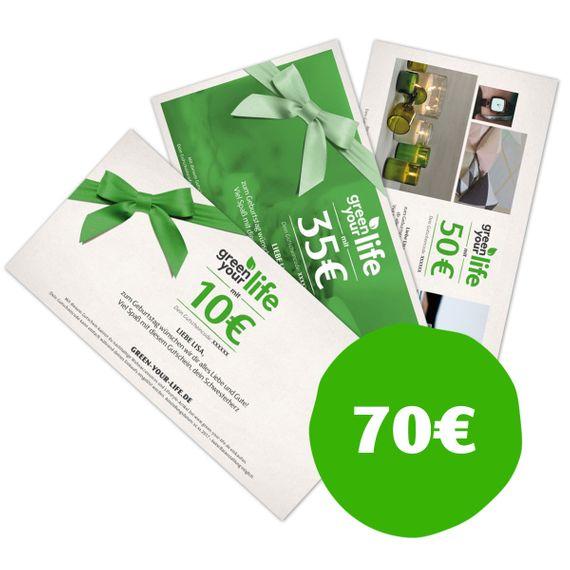 Gutschein zum Selbstausdrucken - Wert 70 € - Bild 1