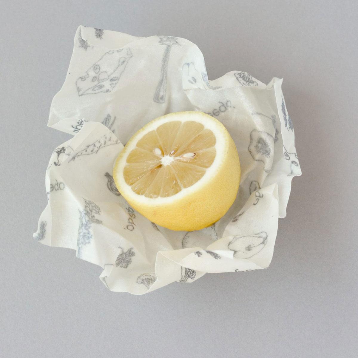 6 x Wiederverwendbare Frischhaltefolie Small (18 x 18 cm) von Abeego