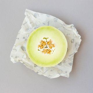 3 x Wiederverwendbare Frischhaltefolie Medium (25 x 25 cm)