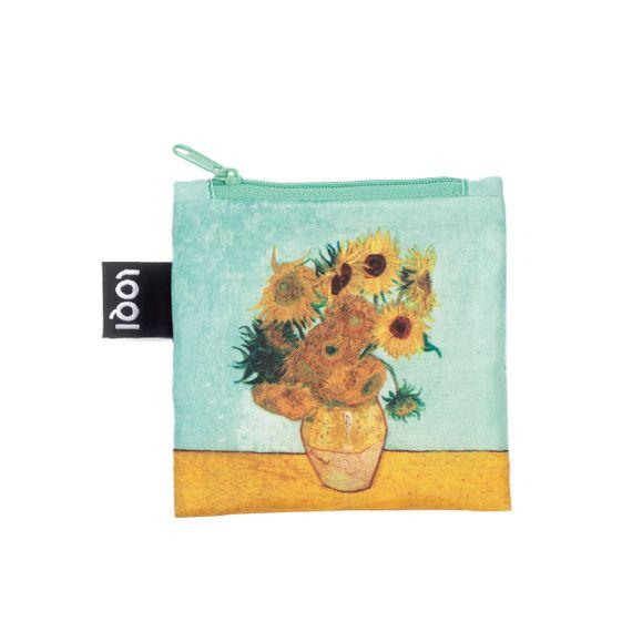 Eco-Shopper Vincent van Gogh Vase with Sunflowers - Bild 2