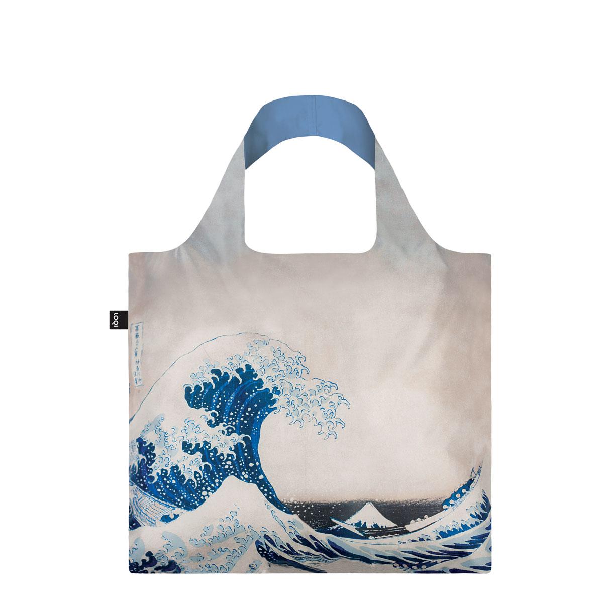 Eco-Shopper Hokusai The Great Wave von LOQI