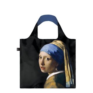 Eco-Shopper Jan Vermeer Girl With a Pearl Earring