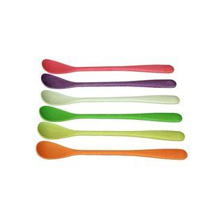 """Buntes Eislöffelset """"Sundaes Spoon"""" - aus Bambusfasern und Mais"""