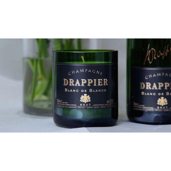 "Duftkerze ""Champagne Drappier Black Candle"" - Bild 1"