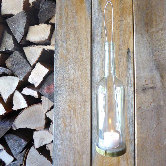 hängeWINDLICHT aus recycelten Weinflaschen - Bild 6