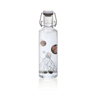 """soulbottle """"The sky is not the limit"""" 0,6 Liter - Trinkflasche aus Glas"""