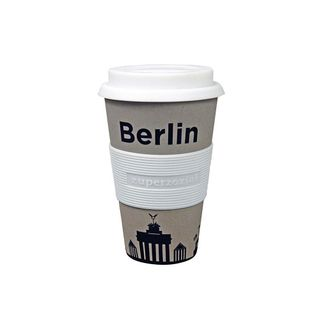 "Coffee to-go Becher ""Cruising Travel Mug City"" - aus Bambusfasern und Mais"