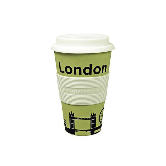 "Coffee to-go Becher ""Cruising Travel Mug City"" - aus Bambusfasern und Mais - Bild 5"