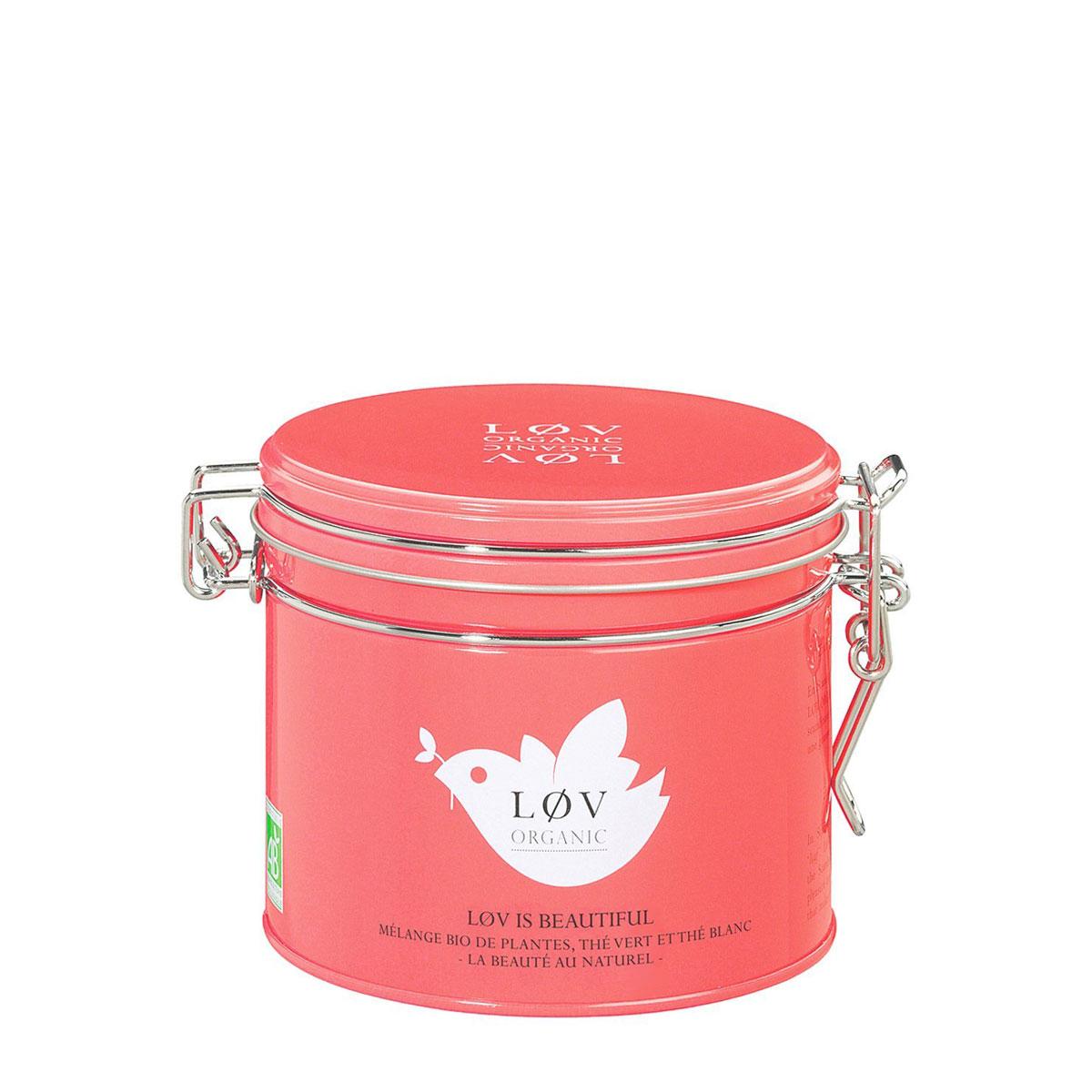 Løv is Beautiful - Mischung aus Tees, Rooibos und gelben Früchten, aromatisiert von Løv Organic