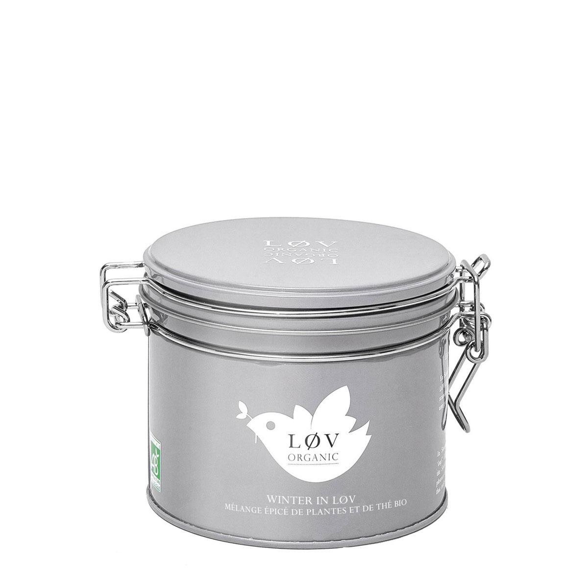 Winter in Løv - Mischung aus Gewürzen, Kakao und schwarzem Tee, aromatisiert von Løv Organic