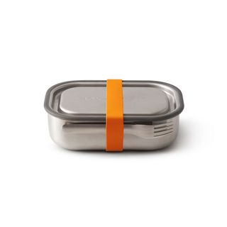 """Auslaufsichere Lunchbox """"Steel Lunch Box"""" aus Edelstahl inkl. Gabel"""