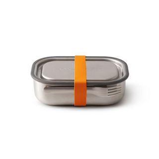 "Auslaufsichere Lunchbox ""Steel Lunch Box Large"" aus Edelstahl inkl. Gabel"