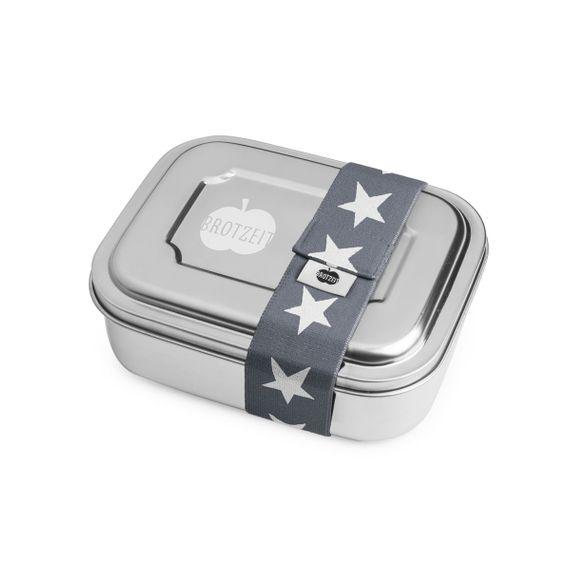 """Lunchbox """"ZWEIER"""" Brotdose mit Unterteilung aus Edelstahl - 100% BPA frei, fest verschliessbar - Bild 7"""