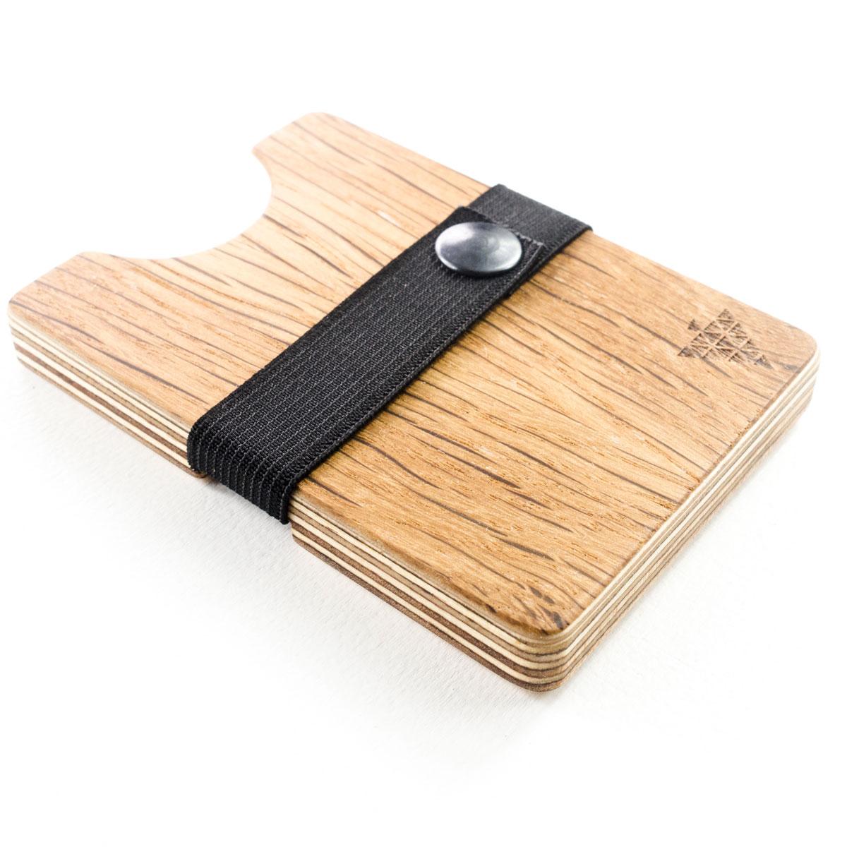 """Kartenetui aus Holz - """"Bimbesbox"""" Wildeiche von Bimbesbox"""