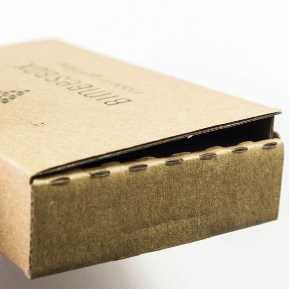"Kartenetui aus Holz - ""Bimbesbox"" Eibe - Bild 5"
