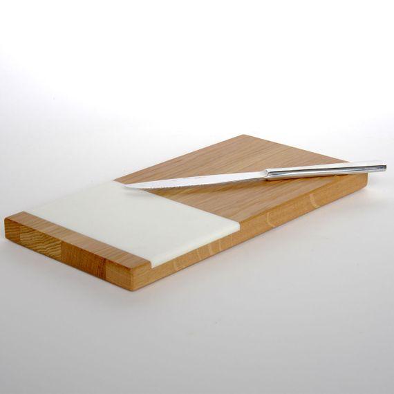 vespro Vesperbrett aus geölter Eiche & Acrylstein - Bild 1