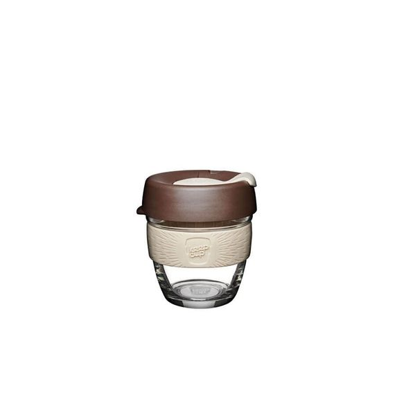 Coffee to go Becher aus Glas - Brew - Small 227ml - Bild 6