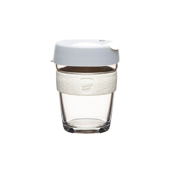 Coffee to go Becher aus Glas - Brew - Medium 340ml - Bild 4