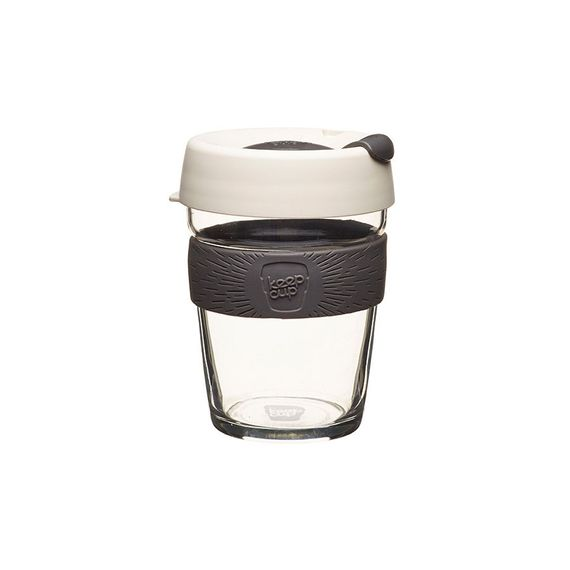 Coffee to go Becher aus Glas - Brew - Medium 340ml - Bild 5