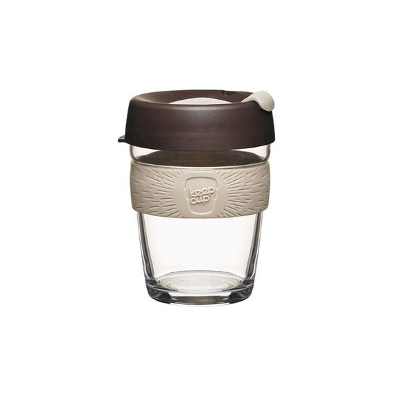 Coffee to go Becher aus Glas - Brew - Medium 340ml - Bild 6